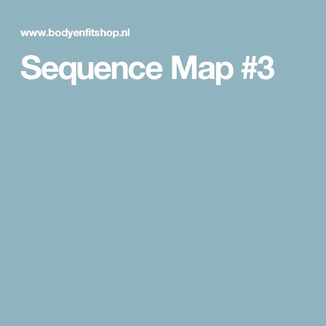 Sequence Map #3