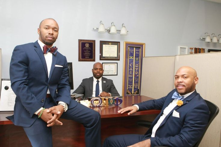 Three locals provide business services at Crenshaw and Clark Financial  These three businessmen went from Crenshaw High School to Clark Atlanta University and back. Now they provide tax accounting real estate life insurance and financial services to their community.  Thomas Fitch Hasani R. Ellis and Omar Muhammad are members of Omega Psi Phi (Lambda Omicron Chapter Los Angeles) 100 Black Men of Los Angeles and the Clark Atlanta University Los Angeles alumni chapter. Photo by Jason Lewis…