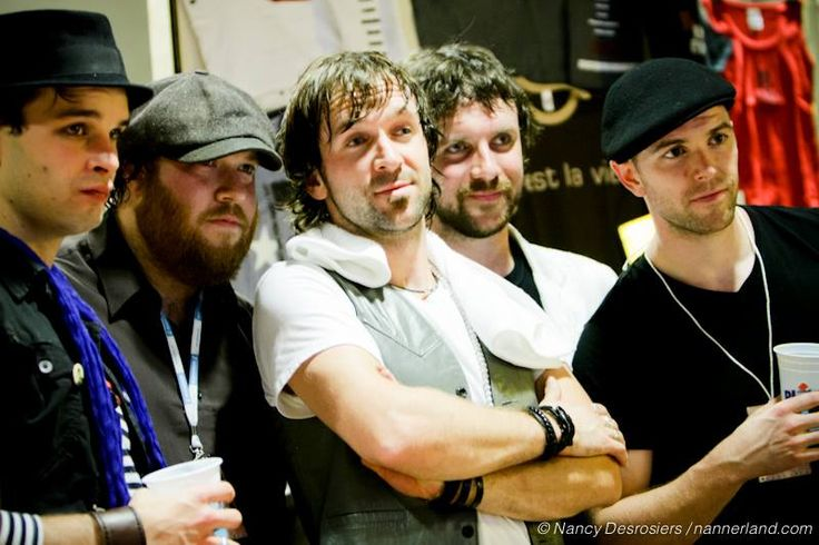 The Trews in Quebec City, Oct. 25/08, after opening for Les Respectables. Taken by our good friend Nancy Desrosiers.