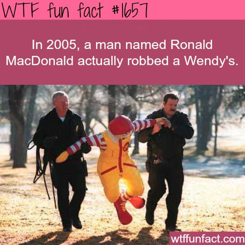 Funniest crimes in history - WTF fun facts