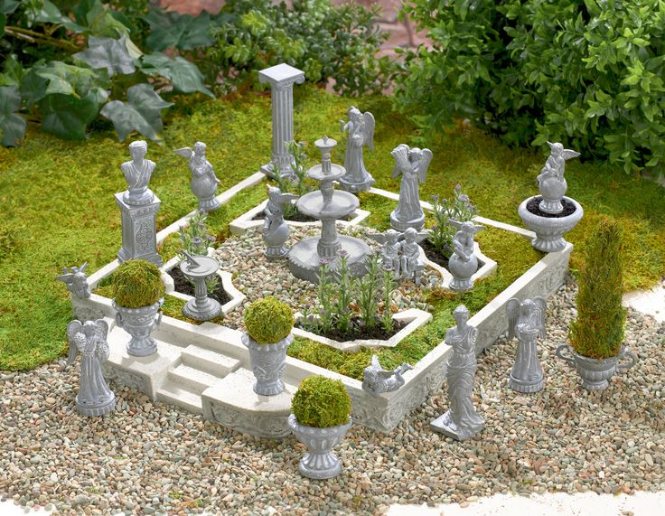 358 best images about miniature garden on pinterest fairy houses garden figurines and cement. Black Bedroom Furniture Sets. Home Design Ideas