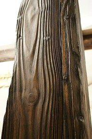 Браширование - состаривание древесины