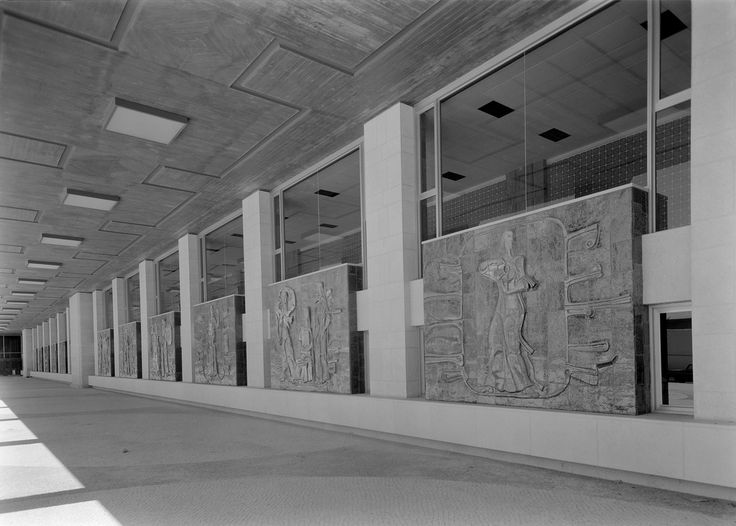 Querubim Lapa | Projecto para painel cerâmico no Palácio da Justiça, Lisboa | 1969 | MNAz
