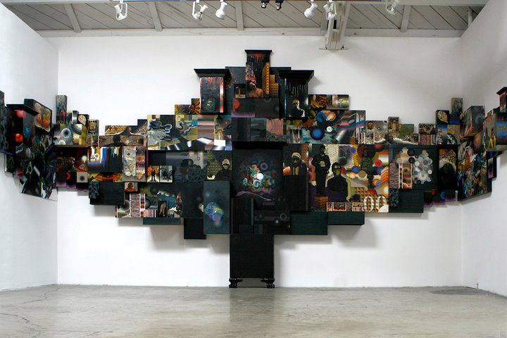 David Choong Lee. I love all the paintings and dimensions.