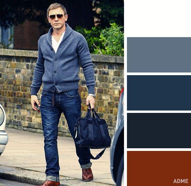 Идеальные цветовые сочетания для мужчин : Мода : Стиль жизни : Subscribe.Ru
