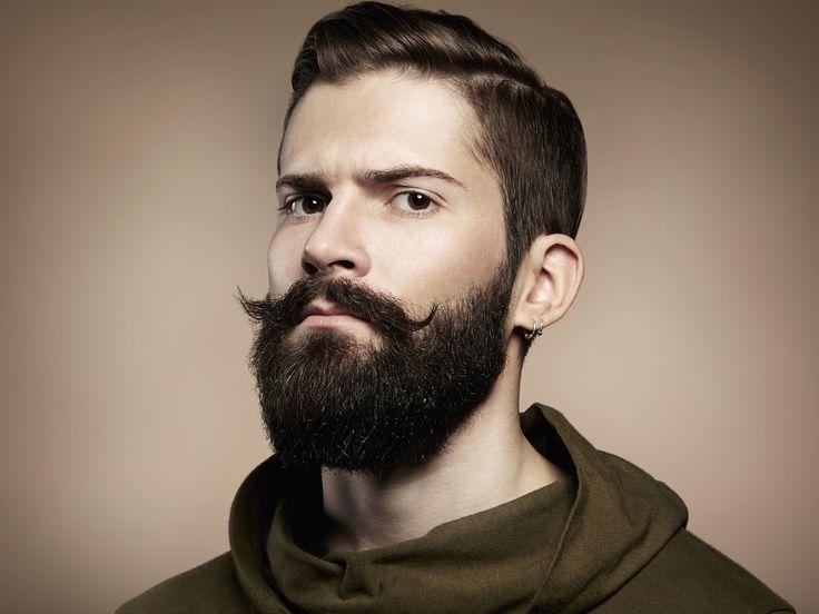 Portrait of handsome man with beard - Portrait of handsome man with beard. Close-up