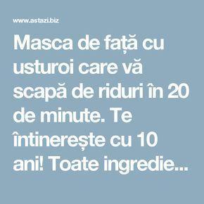 Masca de față cu usturoi care vă scapă de riduri în 20 de minute. Te întinerește cu 10 ani! Toate ingredientele le ai deja în bucătărie… | Astazi.biz