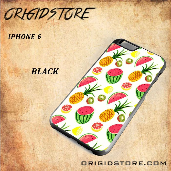 Summer Fruits Snap on 2D Black and White Or 3D Suitable With Image For Iphone 6 Case