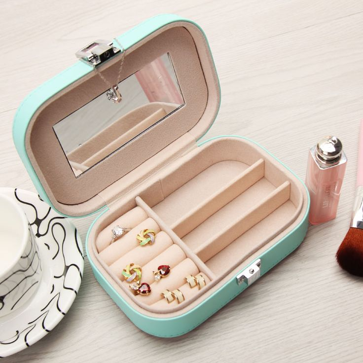 Jewelry Packaging Box Casket Box For Jewelry Exquisite Makeup Case Jewelry…