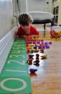 DIY Montessori Sandpaper Numbers