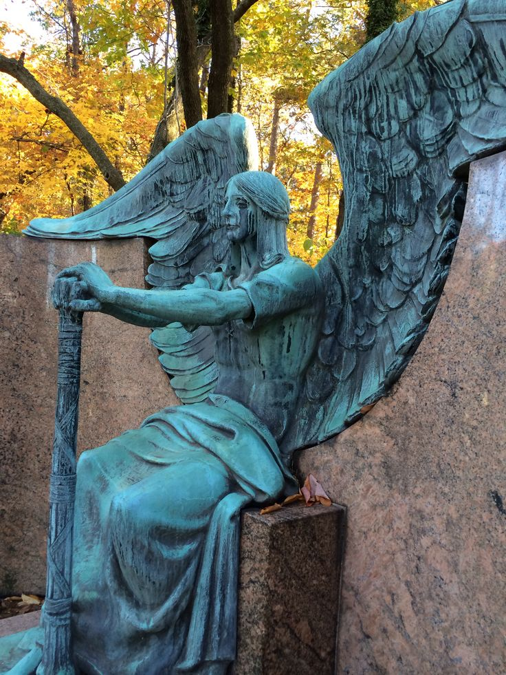 Haserot angel lakeview cemetery Cleveland ohio