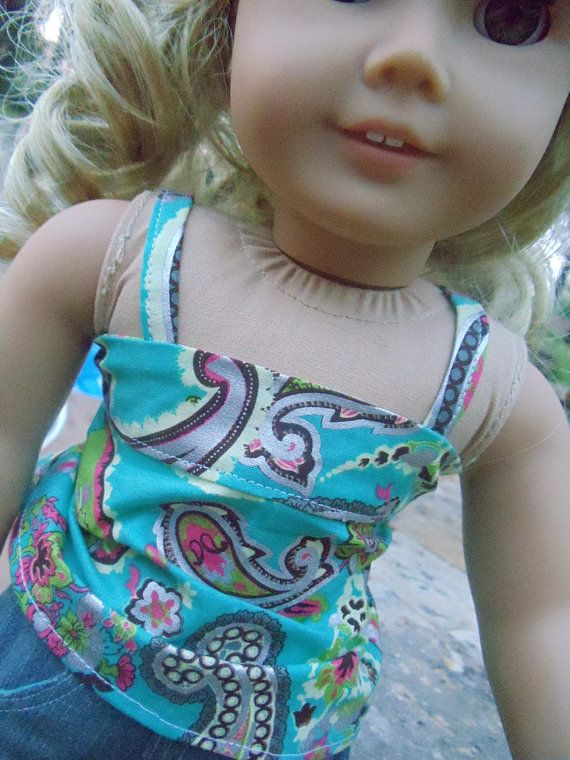 Pretty in Paisley Bandeau Outfit  2 pieces  by camelotstreasures, $16.99
