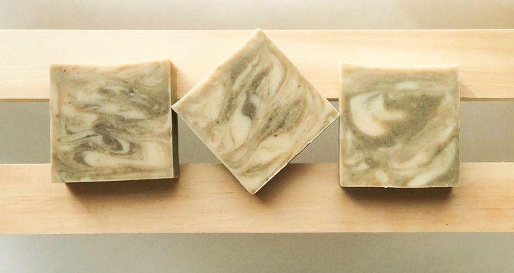 Green Teardrop Soap-Avocado-Honey-Natural-handmade-ultra moisturizing-nourishing-for sensitive and dry skin-facial soap by NaturalSoapGardenInc on Etsy