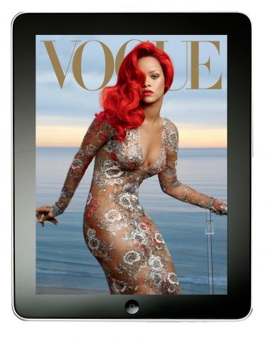 Rihanna in Vogue.  She is so damn stunning!