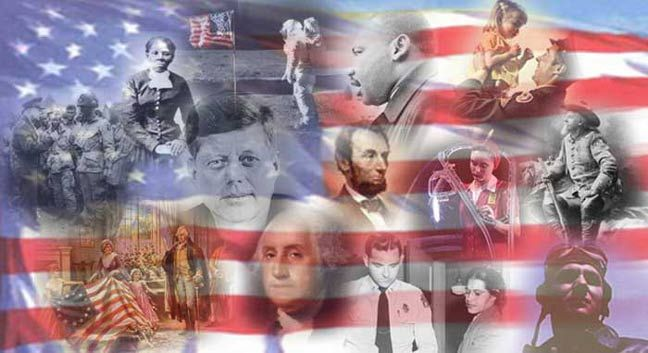 American History Collage The freedom, equality and prosperity that ...