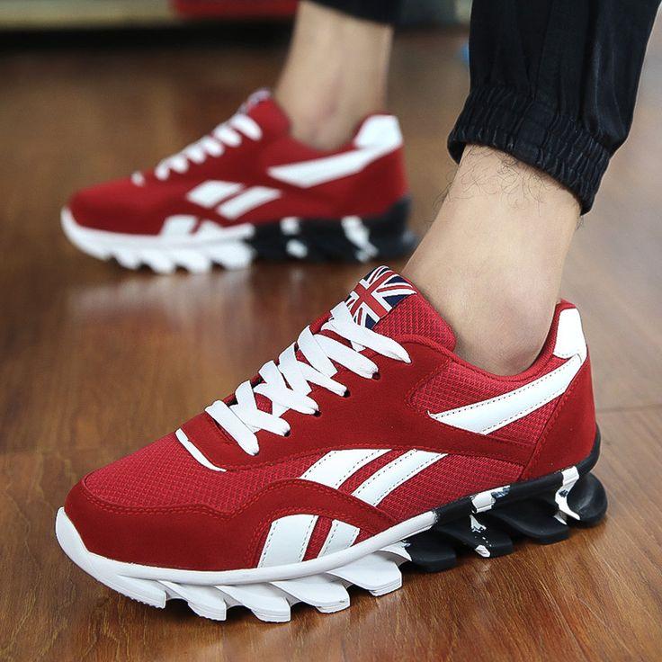 Aliexpress.com: Comprar Caliente venta de otoño de los nuevos hombres de moda Casual de marea zapatos transpirables de la hoja de bajo casuales para hombre zapatos de los planos para hombre de zapatillas superior fiable proveedores en Duang Fashion Shop