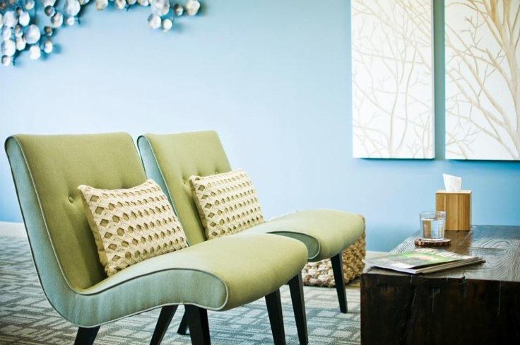 Relax in style at One Medical offices.