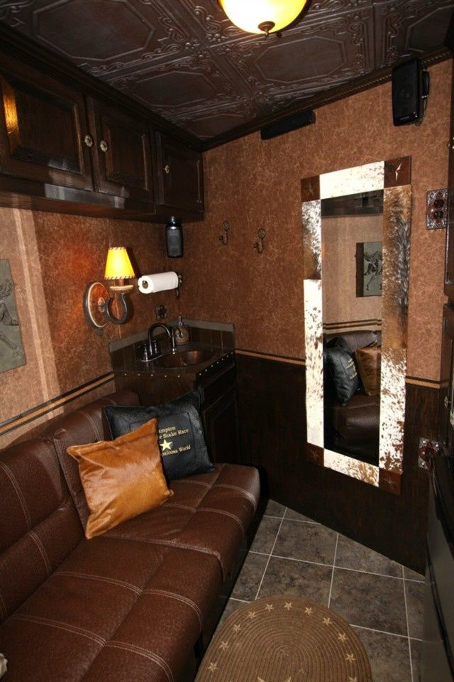 Weekender Horse Trailer Interiors Ideas | Horse Trailer Living Quarters