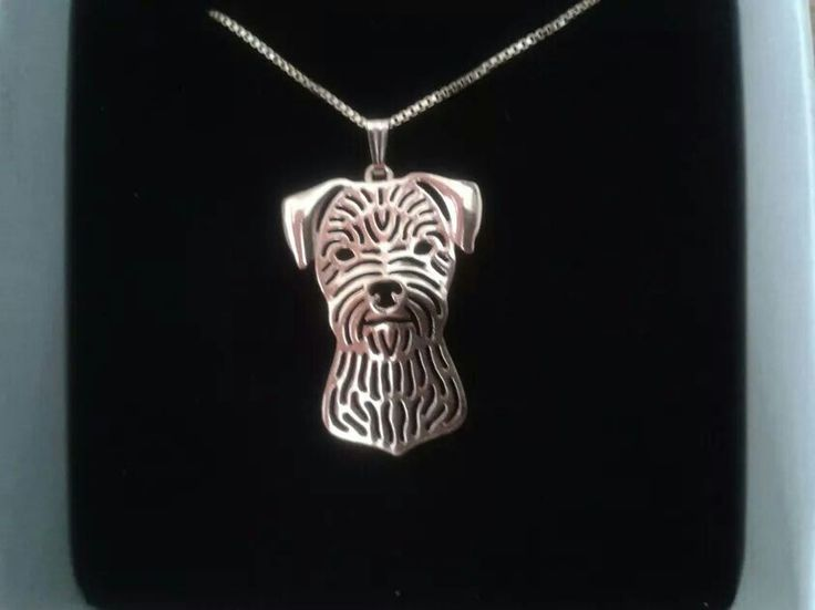 Border terrier necklace