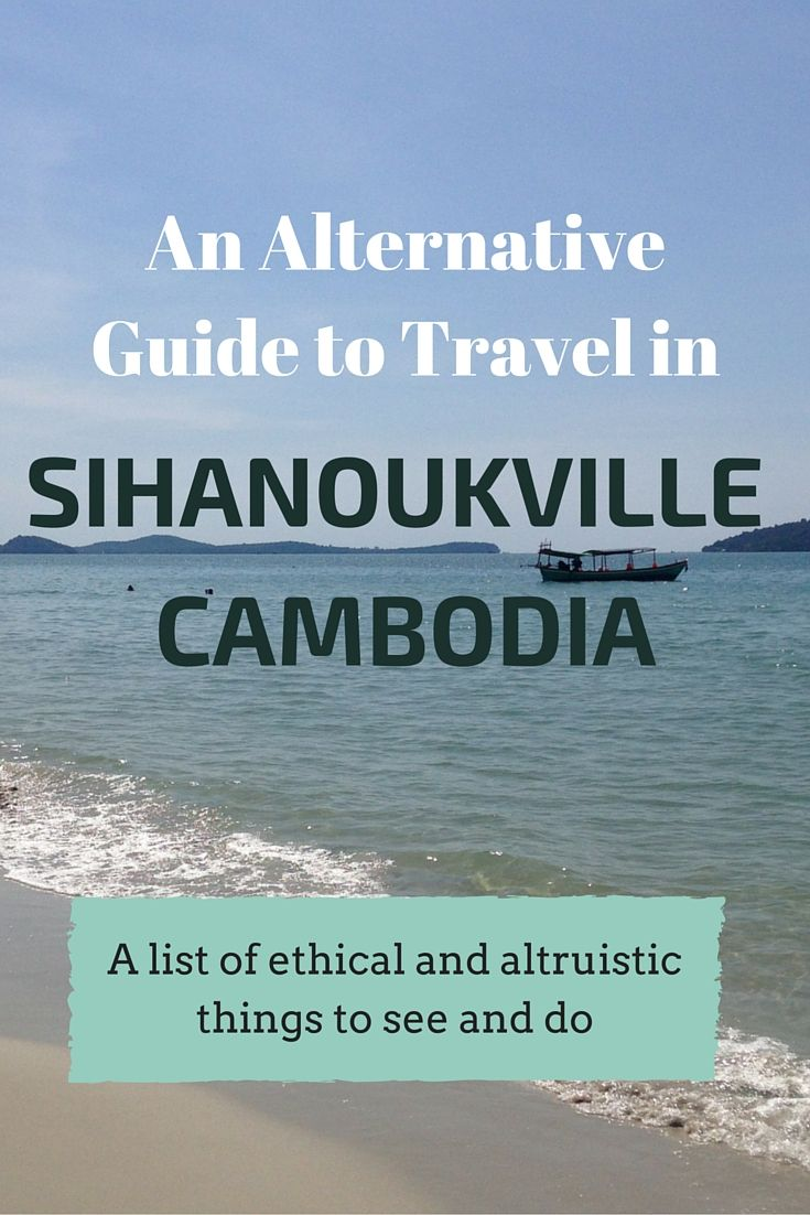 Out of the party scene and into the community, a list of ethical and altruistic activities in Sihanoukville, Cambodia. http://myaltruistictravels.com/2015/12/an-altruistic-guide-to-travel-in-sihanoukville/