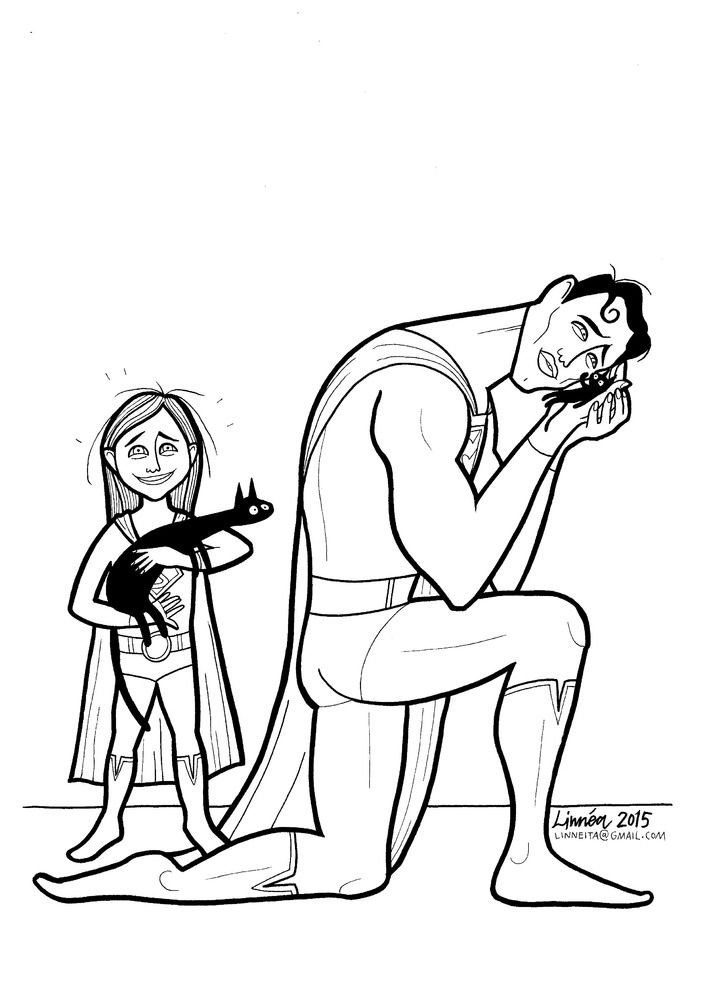 Mom's 'Super-Soft Heroes' Coloring Book Shows Little Boys That Emotion Doesn't Equal Weakness