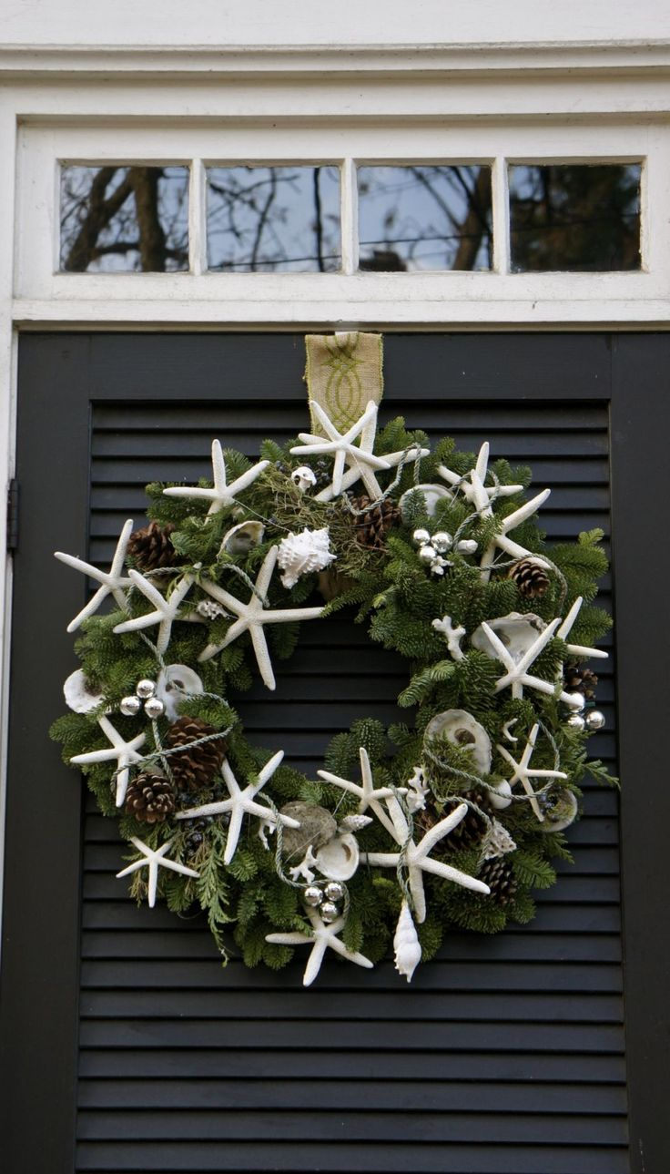 Seaside wreath...possibly for bedroom