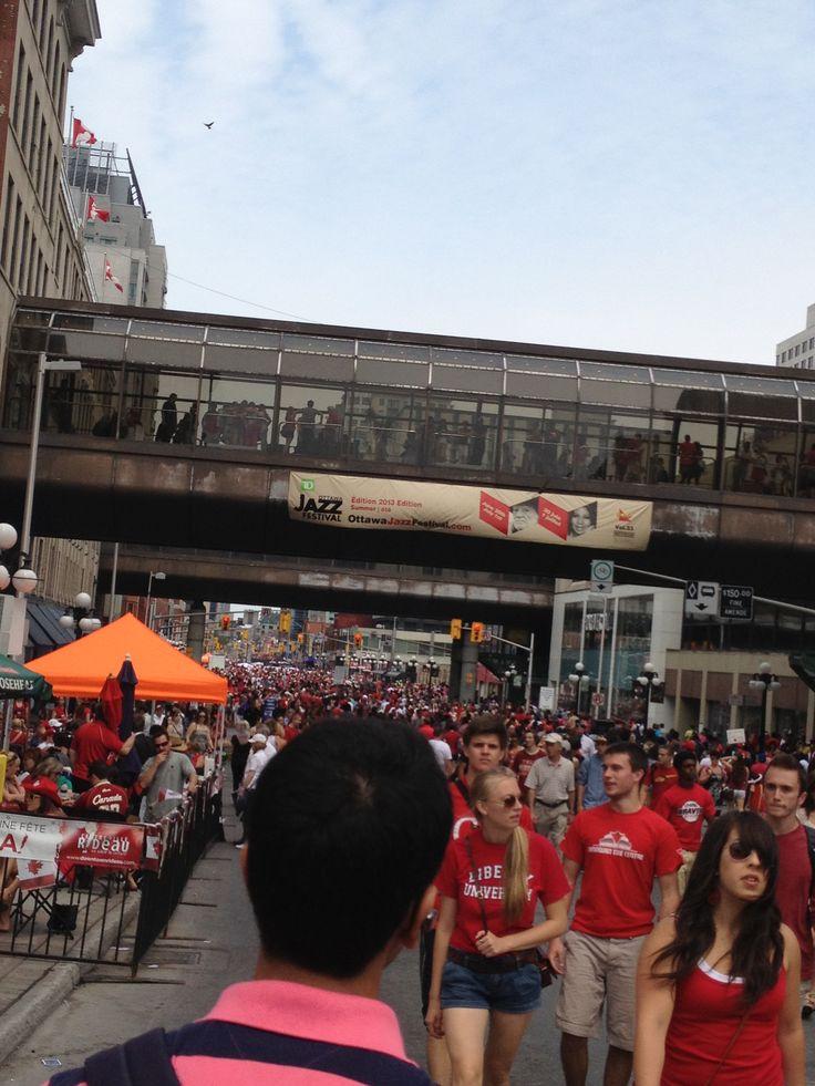 Canada day in ottawa !