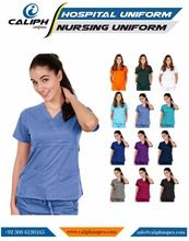 Unisex Men/Women Medical Hospital Clinic Nursing Scrub Set Top & Pants Hospital Uniforms