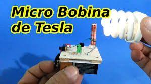 Bobina de Tesla que cualquiera puede construir