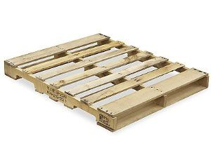 "Heat Treated Wood Pallet 48 x 42"" - Min. Order of 5 by ULINE. $24.00. New Wood Pallets - This economical alternative is the workhorse of the industry. Tough, durable wood. 4-way forklift access. Stackable, reusable. Heat treated pallets meet ISPM 15 Export Specifications. Uline stocks a wide selection of New Wood Pallets."
