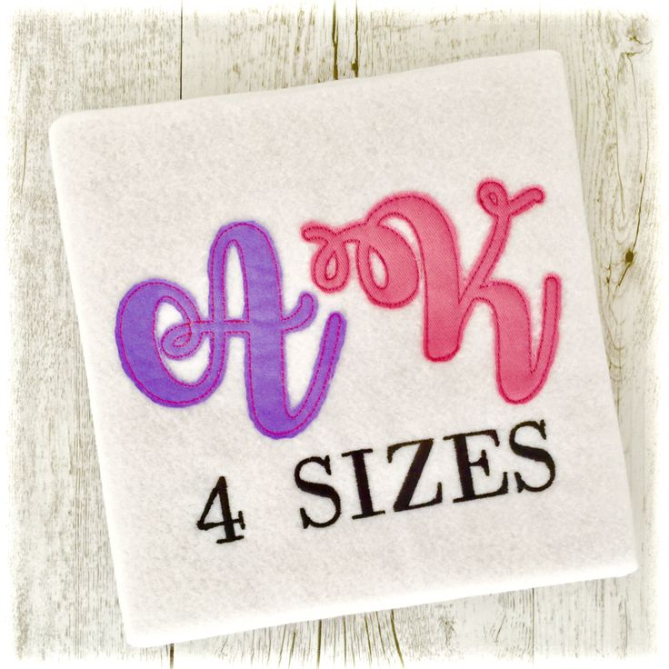 Boys Stacked Embroidery Fonts BX Monogram PES Designs