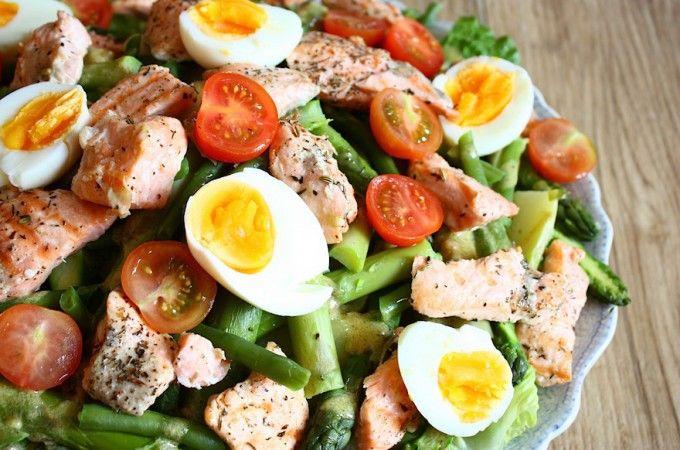 De 'niet zo' salade niçoise - Francesca Kookt