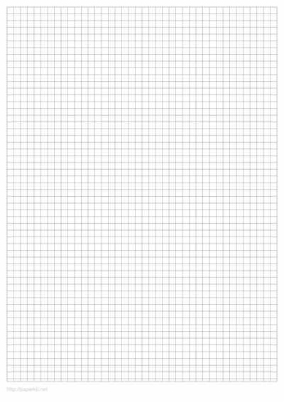 Customizable printable graph paper