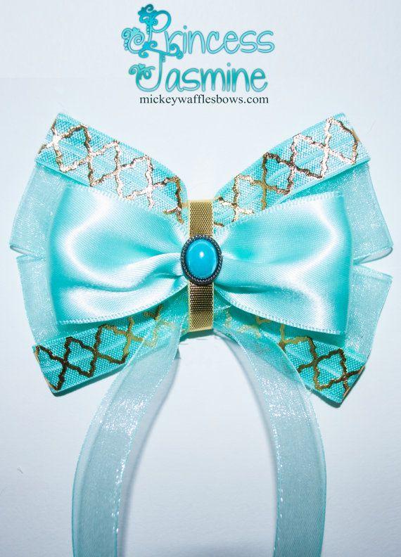 Princess Jasmine Hair Bow