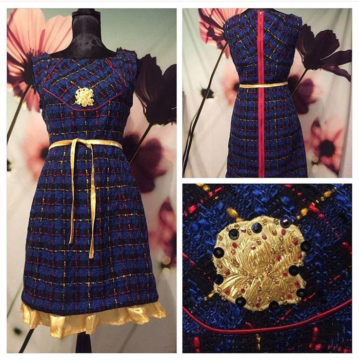Burda pattern used for fun dress