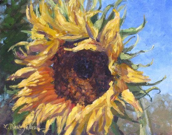 Sunflower Paintings - Bing Images | Sunflowers | Pinterest