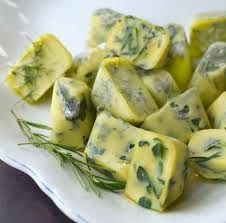 Home made herbal cooking cubes ~ Σπιτικοί κύβοι μυρωδικών
