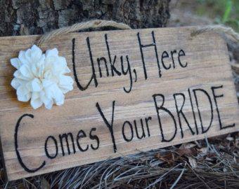 Caja del anillo de boda boda porta anillo por CountryBarnBabe