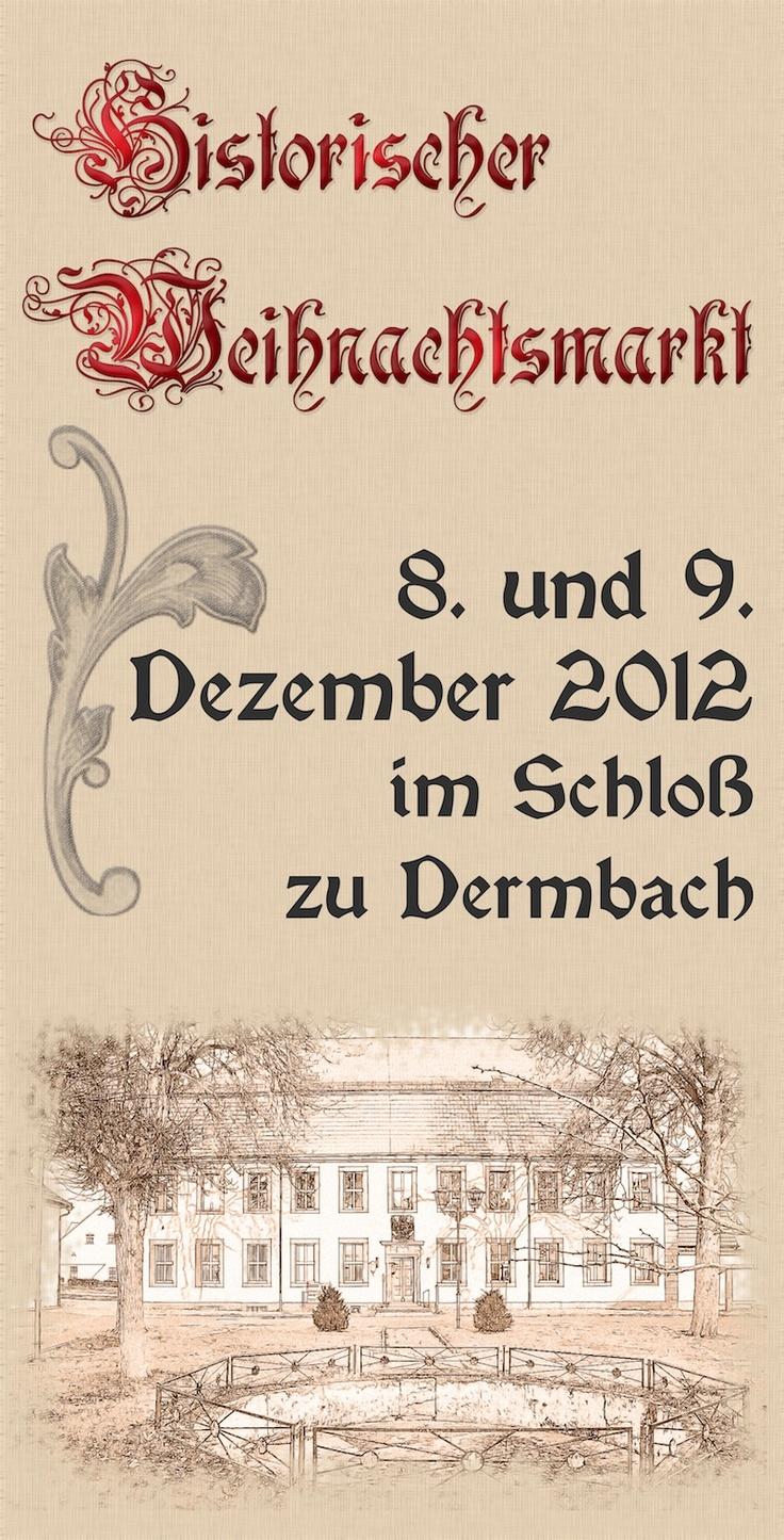 Banner Historischer Weihnachtsmarkt Dermbach 2012