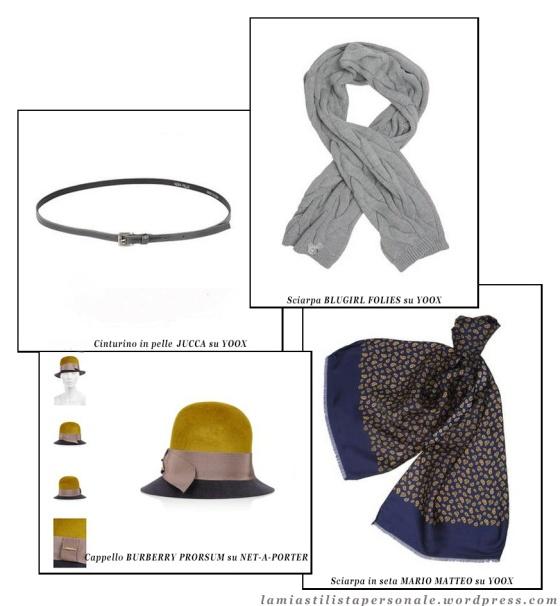 CAPPELLI, CINTURE E SCIARPE selezionate da La mia stilista personale http://lamiastilistapersonale.wordpress.com/2013/01/10/guida-ai-saldi-invernali-on-line-scarpe-e-accessori/
