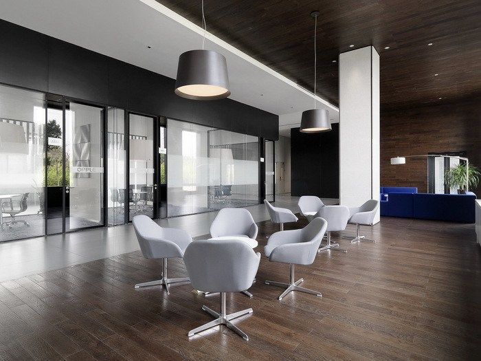 Offices Indirect Opple Lighting