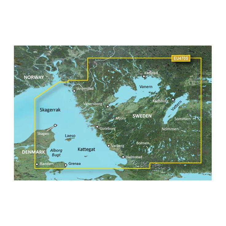 Garmin BlueChart® g2 HD - HXEU470S - Stromstad To Halmstad - microSD™/SD™