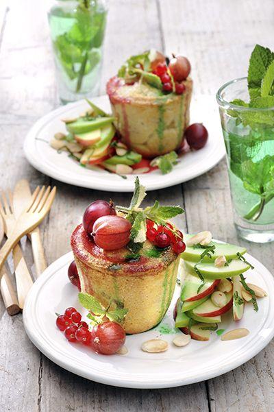 Recept- kruisbessen pie appelsalade - met Zonnigfruit