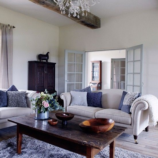 Traditional And Modern Furniture Mixed