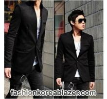 Blazer Korea Black Style IDR ; Rp 265.000 Kode Produk : BK-02