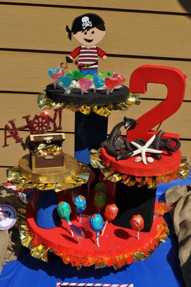 Pirate Center Piece