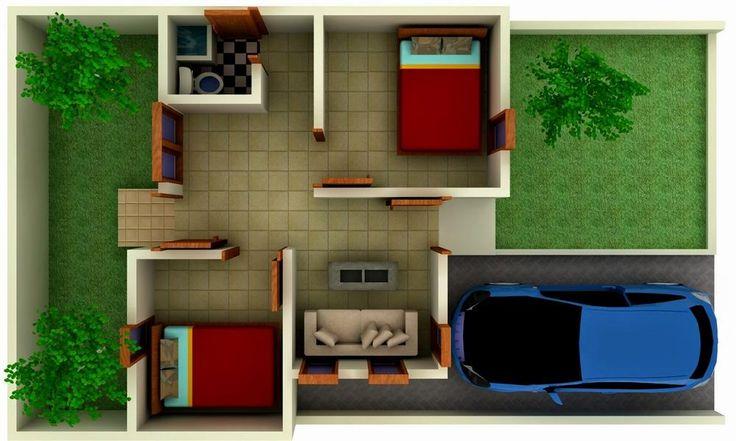 Desain Rumah Minimalis Modern Type 72