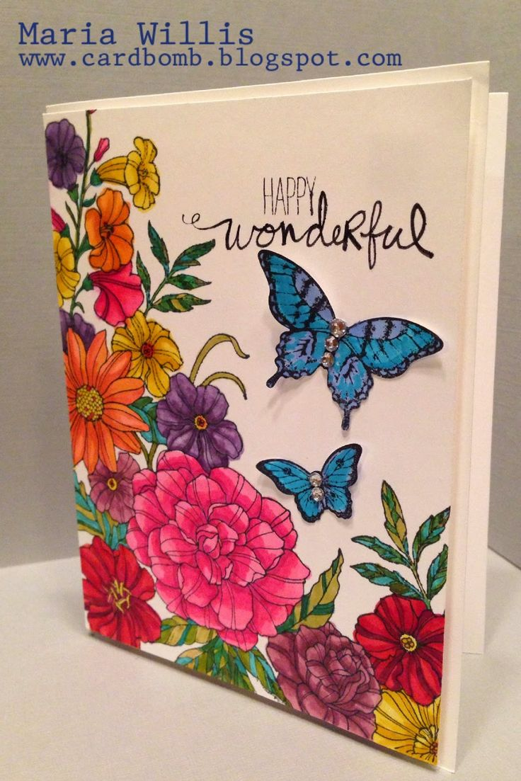 Card Bomb by Maria Willis:     CORNER GARDEN STAMPIN' UP!  This weekend was m...