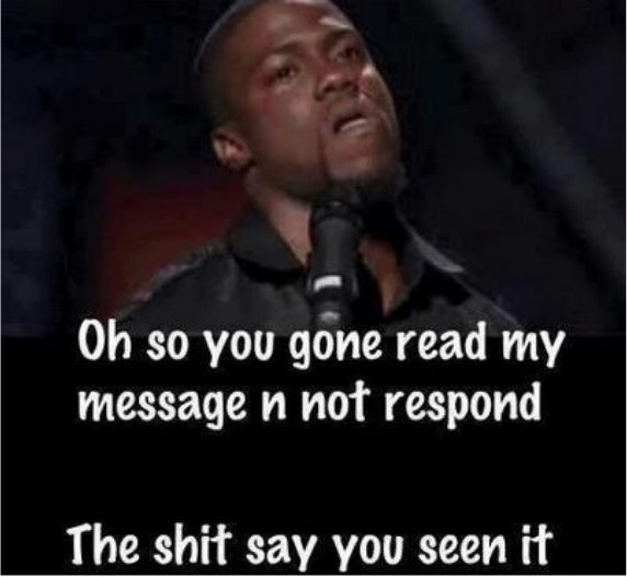 haha I sometimes put it to where you can see that I read it... just so you wonder why I'm not responding lol