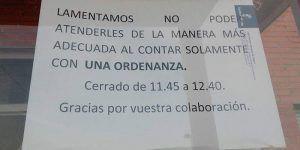 El PP de Alovera denuncia la falta de personal y el lamentable estado en el que se encuentra el único Instituto del municipio